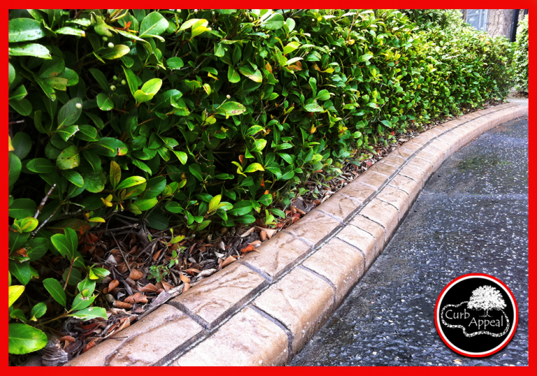 NC Curb Appeal - Custom Stamped Edging - Paver